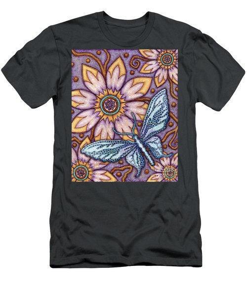 Tapestry Butterfly Men's T-Shirt (Athletic Fit)