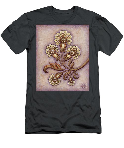 Tapestry Flower 4 Men's T-Shirt (Athletic Fit)