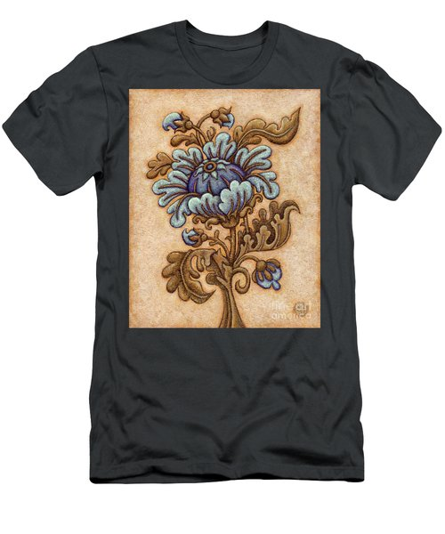 Tapestry Flower 5 Men's T-Shirt (Athletic Fit)
