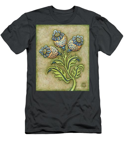 Tapestry Flower 6 Men's T-Shirt (Athletic Fit)