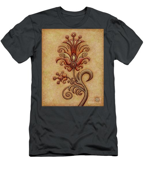 Tapestry Flower 7 Men's T-Shirt (Athletic Fit)