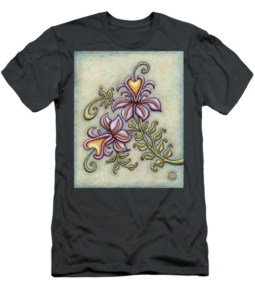 Tapestry Flower 8 Men's T-Shirt (Athletic Fit)