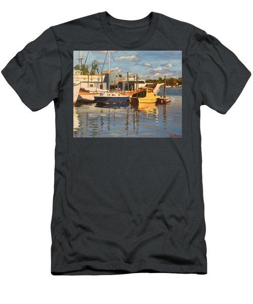 Tarpon Springs Harbour Men's T-Shirt (Athletic Fit)