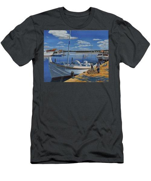 Tarpon Springs Sponger Men's T-Shirt (Athletic Fit)