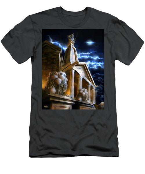Temple Of Hercules In Kassel Men's T-Shirt (Athletic Fit)
