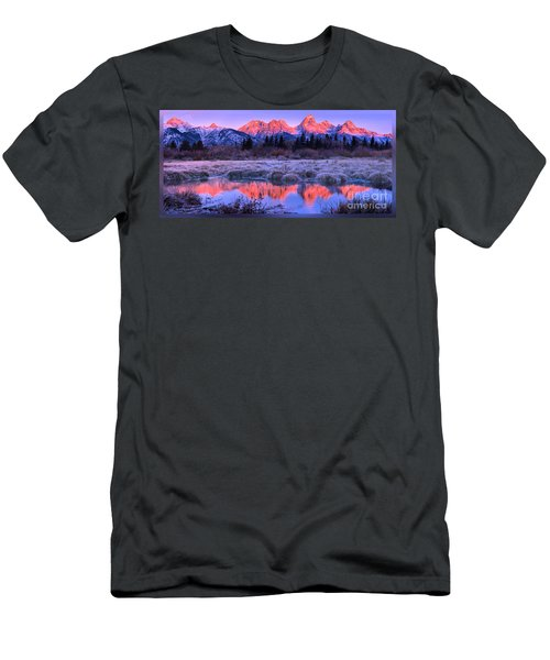 Teton Panorama T-shirt Men's T-Shirt (Athletic Fit)