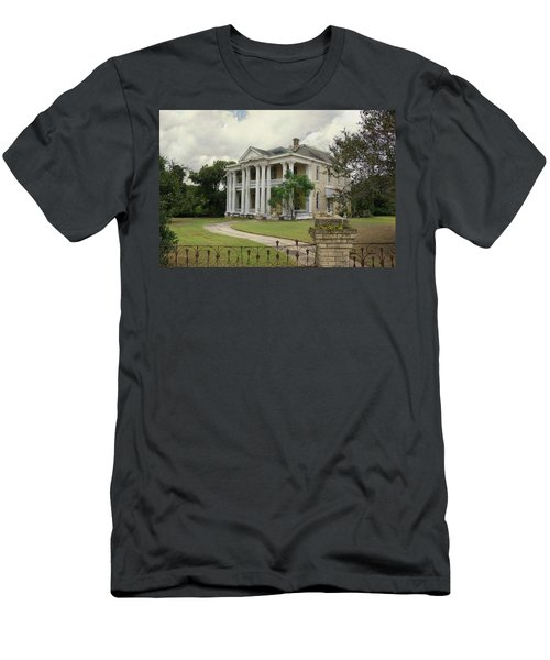 Texas Mansion In Ruin Men's T-Shirt (Athletic Fit)