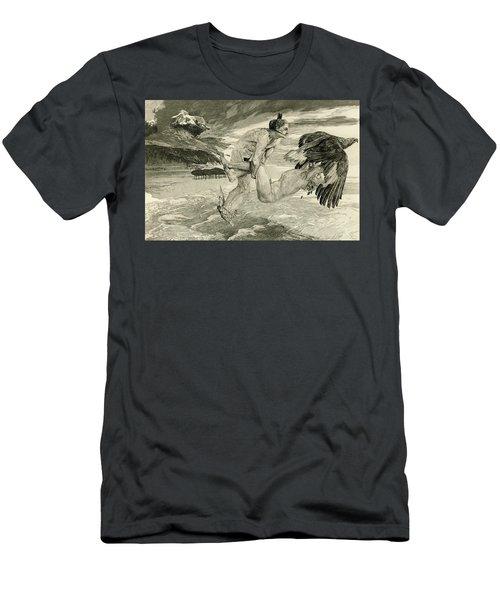 The Abduction Of Prometheus, 1894 Men's T-Shirt (Athletic Fit)