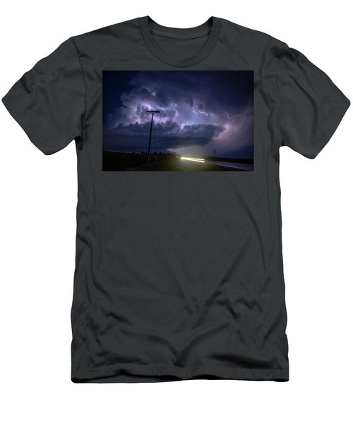 Men's T-Shirt (Athletic Fit) featuring the photograph The Best Supercell Of The Summer 043 by NebraskaSC