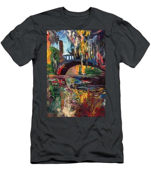 The Bridge At City Park New Orleans Men's T-Shirt (Athletic Fit)