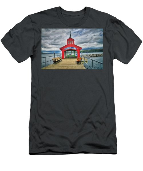 Men's T-Shirt (Athletic Fit) featuring the photograph The Charm Of Seneca Lake - Finger Lakes, New York by Lynn Bauer