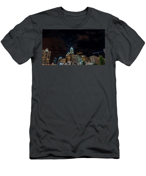 The City Lights Up Men's T-Shirt (Athletic Fit)