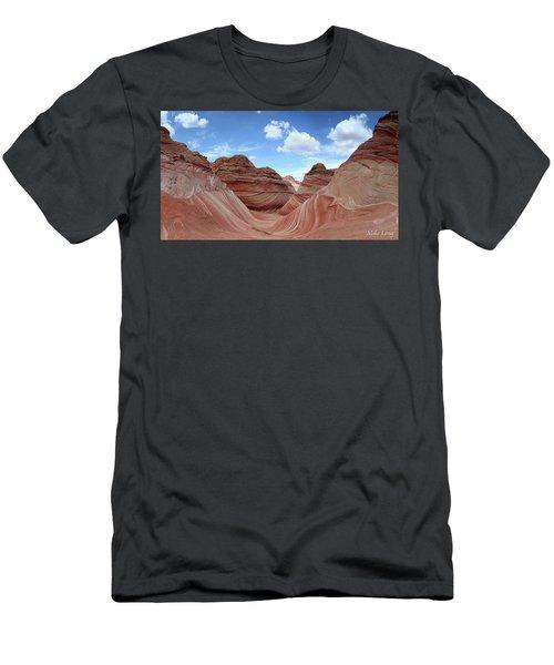 The Classic Wave Men's T-Shirt (Athletic Fit)