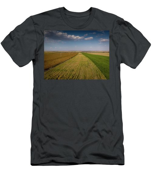 The Colored Fields Men's T-Shirt (Athletic Fit)