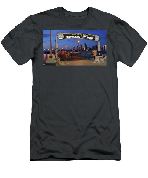 The Coronado Ferry Landing Men's T-Shirt (Athletic Fit)