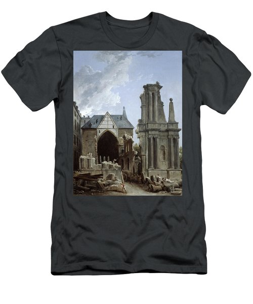 The Demolition Of The Church Men's T-Shirt (Athletic Fit)