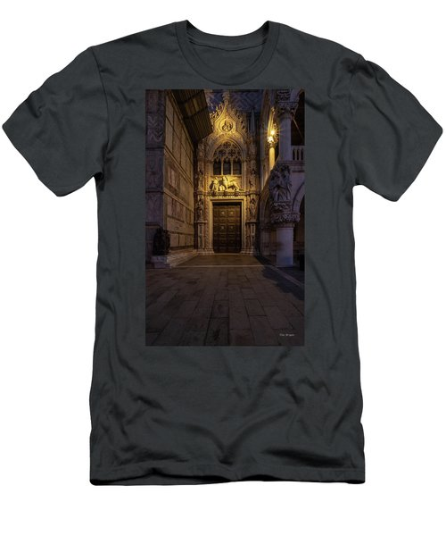 Men's T-Shirt (Athletic Fit) featuring the photograph The Doge's Door. by Tim Bryan
