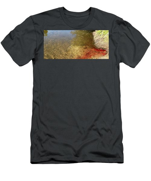 The Earth Is Bleeding Men's T-Shirt (Athletic Fit)