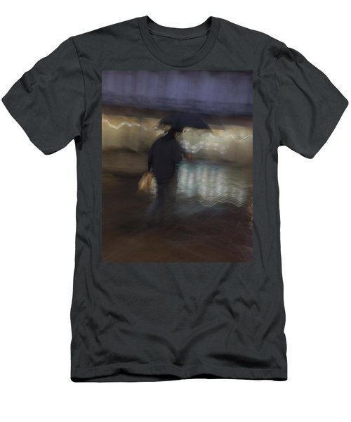 Men's T-Shirt (Athletic Fit) featuring the photograph The End Of A Long Day by Alex Lapidus