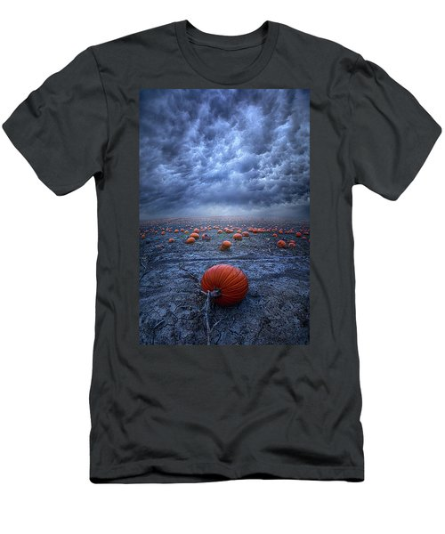 Men's T-Shirt (Athletic Fit) featuring the photograph The End Was Left Behind by Phil Koch