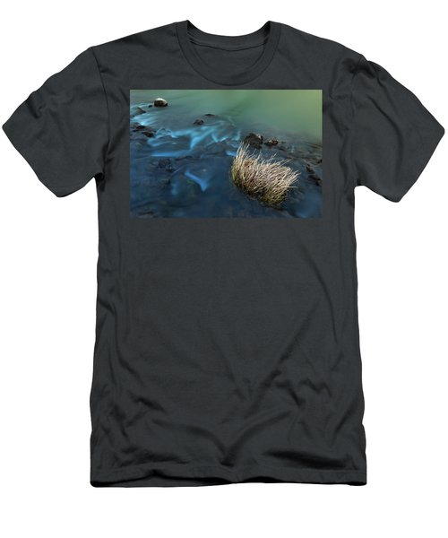 Men's T-Shirt (Athletic Fit) featuring the photograph The Flow Of Time by Davor Zerjav