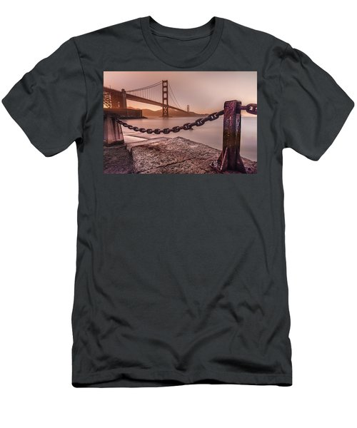 Men's T-Shirt (Athletic Fit) featuring the photograph The Golden Gate by Francisco Gomez