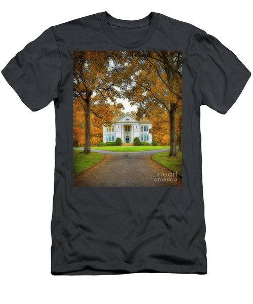 The Hoge Building At Berry College Men's T-Shirt (Athletic Fit)