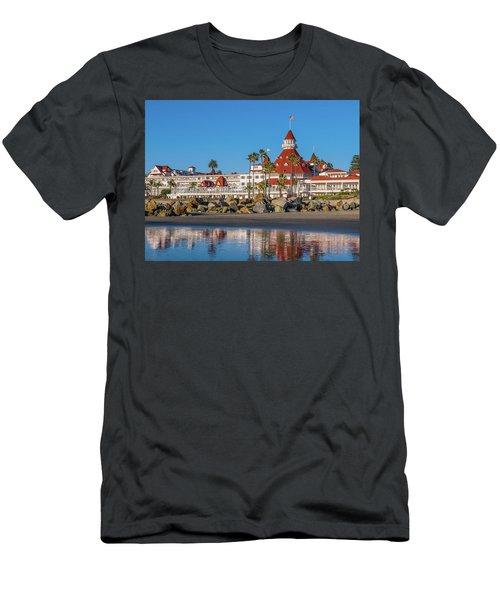 The Hotel Del Coronado San Diego Men's T-Shirt (Athletic Fit)