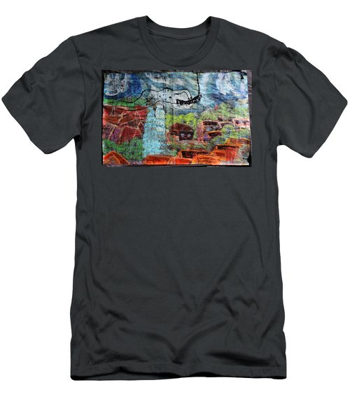 The Hues Brightened Life Seems Good Men's T-Shirt (Athletic Fit)