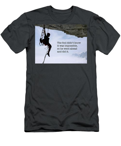 The Impossible I Men's T-Shirt (Athletic Fit)
