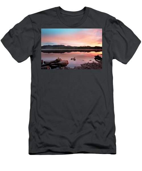 The Lake At Pitlochry Men's T-Shirt (Athletic Fit)
