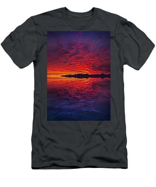 Men's T-Shirt (Athletic Fit) featuring the photograph The Last Chapter by Phil Koch