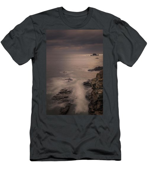 The Lizard, Long Exposure Men's T-Shirt (Athletic Fit)