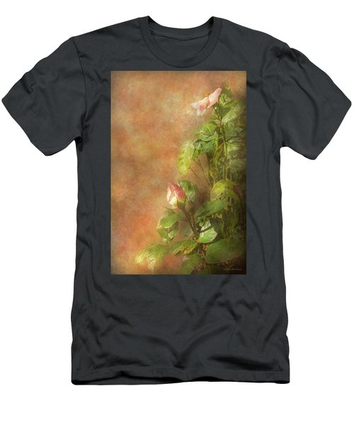 Men's T-Shirt (Athletic Fit) featuring the photograph The Lovely Rose by Mike Savad - Abbie Shores