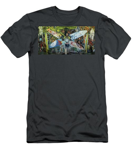 The Man In Control Of The Universe Men's T-Shirt (Athletic Fit)