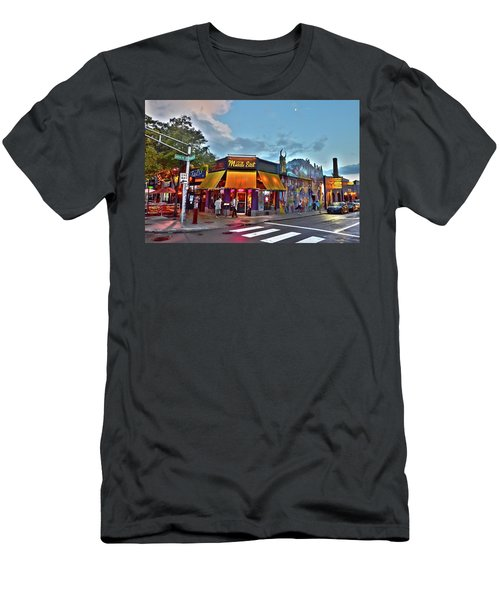 The Middle East In Cambridge Central Square Dusk Men's T-Shirt (Athletic Fit)