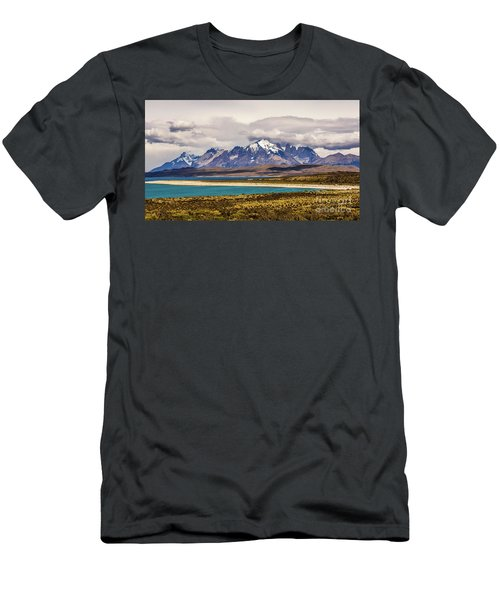 The Mountains Of Torres Del Paine National Park, Chile Men's T-Shirt (Athletic Fit)