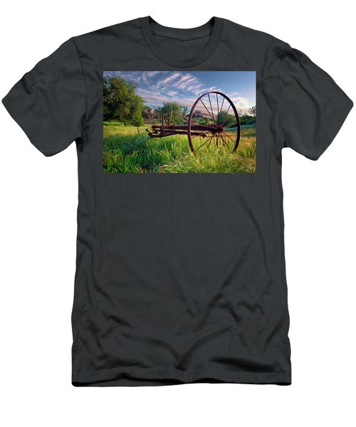 The Old Hay Rake 2 Men's T-Shirt (Athletic Fit)