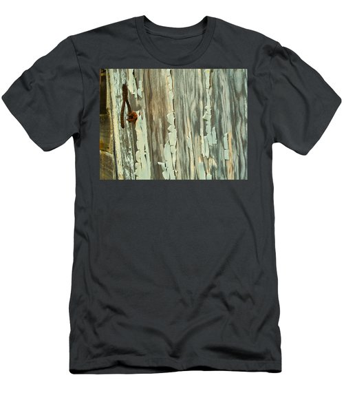 The Peeling Wall Men's T-Shirt (Athletic Fit)