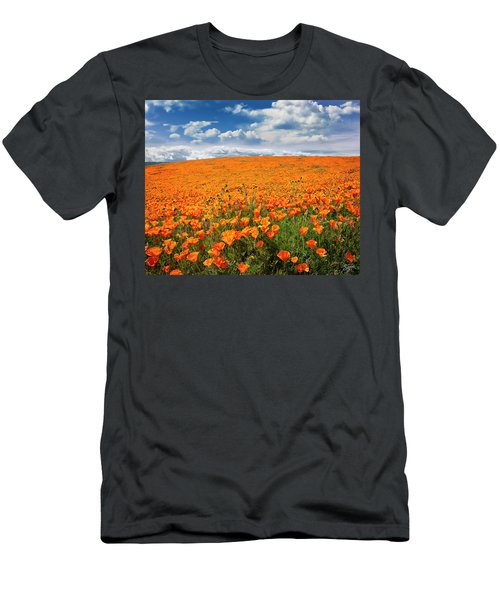 The Poppy Field Men's T-Shirt (Athletic Fit)