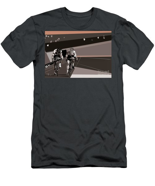 The Race Is On Men's T-Shirt (Athletic Fit)