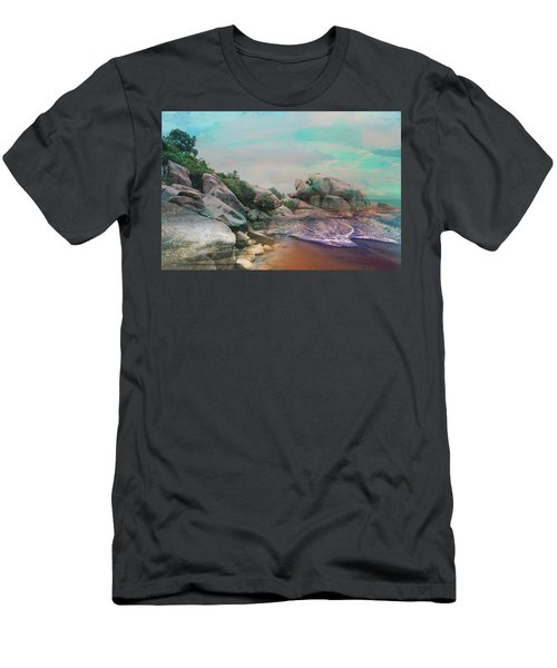 The Rising Tide Montage Men's T-Shirt (Athletic Fit)
