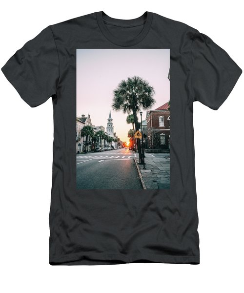 The Road Is Broad Men's T-Shirt (Athletic Fit)