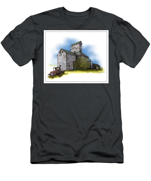 The Ross Elevator Autumn Men's T-Shirt (Athletic Fit)