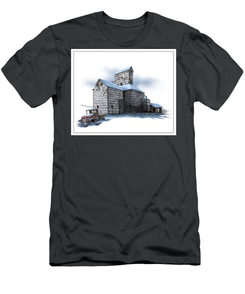 The Ross Elevator Winter Men's T-Shirt (Athletic Fit)