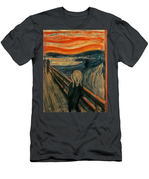 The Scream  Men's T-Shirt (Athletic Fit)