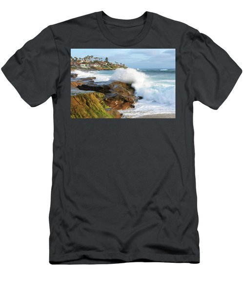 The Sea Was Angry That Day My Friends Men's T-Shirt (Athletic Fit)