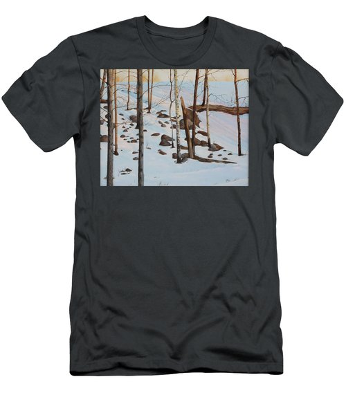 Men's T-Shirt (Athletic Fit) featuring the painting The Sentinels by Tammy Taylor