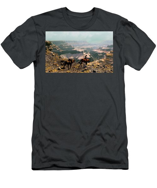 The Sinking Earth Men's T-Shirt (Athletic Fit)
