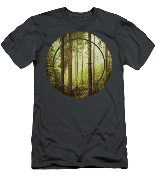 The Small And The Tall - Fir Forest Men's T-Shirt (Athletic Fit)